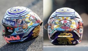Helm terbaru Marc Marquez