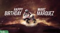 arc Marquez merayakan ulang tahun ke-24 pada hari ini, Jumat (17/2/2017). (Bola.com/Dody Iryawan)