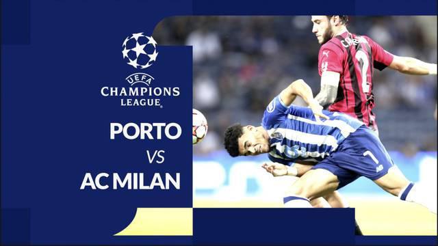 Berita motion grafis laga matchday 3 Grup B Liga Champions 2021/2022, Porto kontra AC Milan yang berakhir dengan skor 1-0, Rabu (20/10/2021) dinihari WIB.