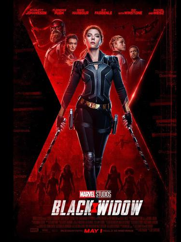Poster film Black Widow. (Foto: Instagram @black.widow)