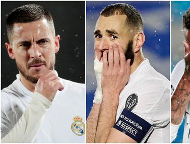 FOTO: Reaksi Pemain Bintang Real Madrid usai Ditahan Imbang Chelsea di Liga Champions