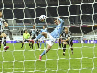 FOTO: Hattrick Ferran Torres Bawa Manchester City Taklukkan Newcastle United