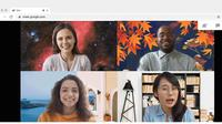 Google Meet bisa ubah latar belakang sesuai keinginan pengguna (Foto: Google)