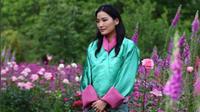 Ratu Jetsun Pema berhasil menyihir media sosial dengan kecantikannya. (Instagram/@her_majesty_queen_of_bhutan)