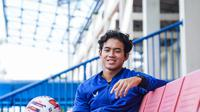 Bahril Fahreza naik level ke tim senior PSIS Semarang. (Bola.com/Dok PSIS)
