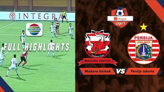 Berita video highlights Shopee Liga 1 2019 antara Madura United melawan Persija Jakarta yang berakhir dengan skor 2-2, Jumat (16/8/2019).