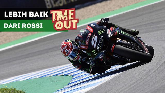 Berita video Time Out kali ini tentang Johann Zarco yang berpeluang bisa terus lebih baik dari Valentino Rossi di klasemen MotoGP 2018.