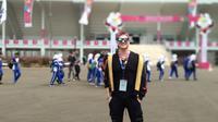 Bertrand Antolin mengaku terinspirasi dengan atlet paralimpik Indonesia. (Bola.com/Budi Prasetyo Harsono)