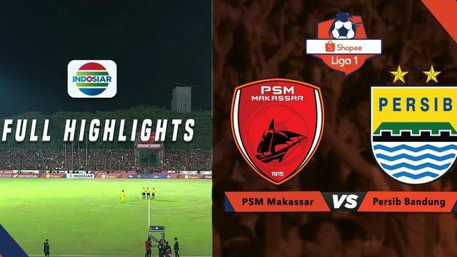Berita video highlights Shopee Liga 1 2019. PSM Makassar kalahkan Persib Bandung dengan skor 3-1, Minggu (18/8/2019) di Stadion Andi Mattalatta, Mattoangin.
