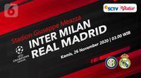 Inter Milan vs Real Madrid (Liputan6.com/Abdillah)