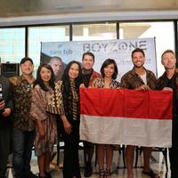 Konser Boyzone di Bandung