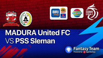 Sedang Main, Live Streaming BRI Liga 1 Madura United vs PSS Sleman di Vidio