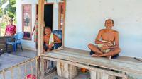 Potret kehidupan Suku Sakai sebagai salah satu masyarakat adat Riau di Kabupaten Bengkalis. (Liputan6.com/M Syukur)