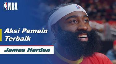 Berita Video James Harden Bawa Houston Rockets Menang atas Philadelphia 76ers di NBA