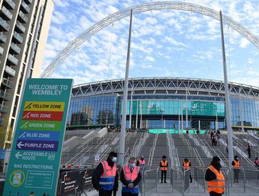 Foto Piala Eropa: Mengintip Stadion Wembley, Venue Terbesar Gelaran Akbar Euro 2020 (Euro 2021), Sebagai Tuan Rumah di Babak Final