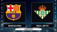 La Liga - Barcelona Vs Real Betis (Bola.com/Adreansu Titus)