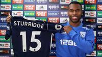 Daniel Sturridge memilih bergabung dengan West Bromwich Albion karena diyakinkan oleh manajer Alan Pardew. (dok. West Bromwich Albion)