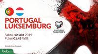 Kualifikasi Piala Eropa 2020 - Portugal Vs Luksemburg (Bola.com/Adreansu Titus)