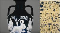 Portland Vase yang dipamerkan di British Museum hancur lebur gara-gara ulah pria mabuk (Wikipedia/Public Domain/British Museum)