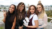 Little Mix berhasil menorehkan prestasi dengan rekor baru, melampaui girlband legendaris Spice Girls (AP Files)