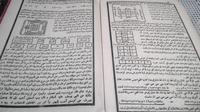 Beberapa contoh wafak yang berasal dari kitab kuning (Liputan6.com/Jayadi Supriadin)