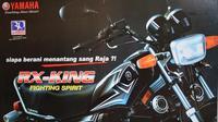 Yamaha RX King menjadi salah satu motor legendaris yang hingga kini masih menjadi kegemaran bikers dan kolektor (rxkingnusantara)
