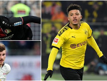 Jadon Sancho dan 5 Pemain dengan Nilai Pasar Termahal di Bundesliga
