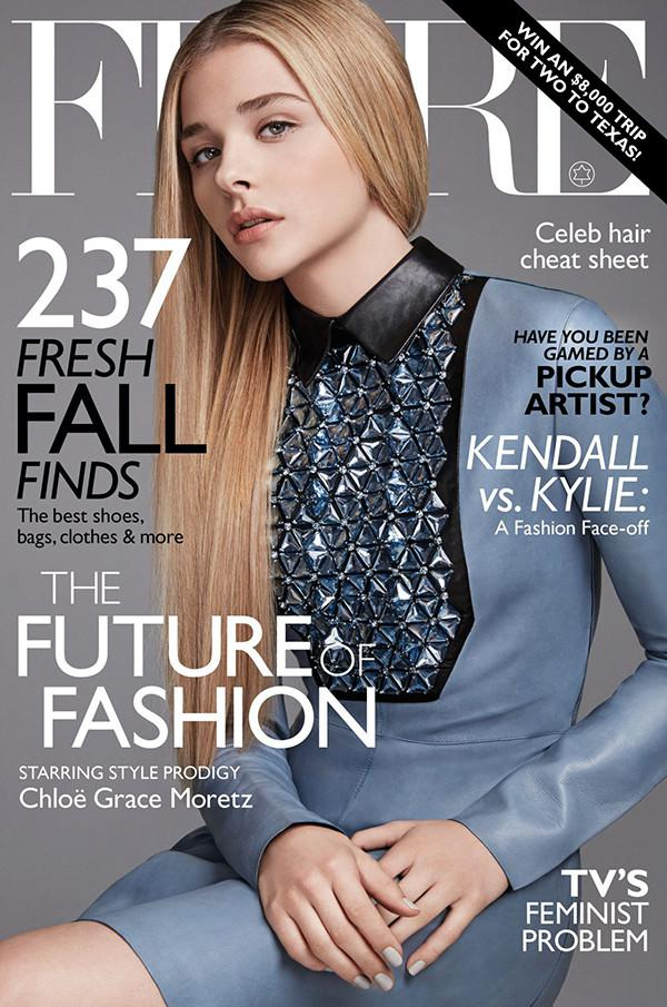 flare magazine, chloe grace moretz