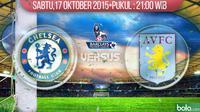 Chelsea vs Aston Villa (Bola.com/Samsul Hadi)
