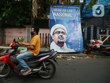 FOTO: Suasana Sekitar Markas FPI Pasca Dibubarkan Pemerintah
