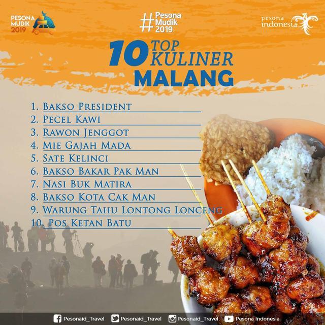 Kuliner Ikonik Malang Raya Siap Sambut Pemudik Lifestyle