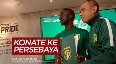 Berita Video Persebaya resmi umumkan Makan Konate sebagai pemain Persebaya lewat konfrensi pers yang diadakan oleh pihak Persebaya.