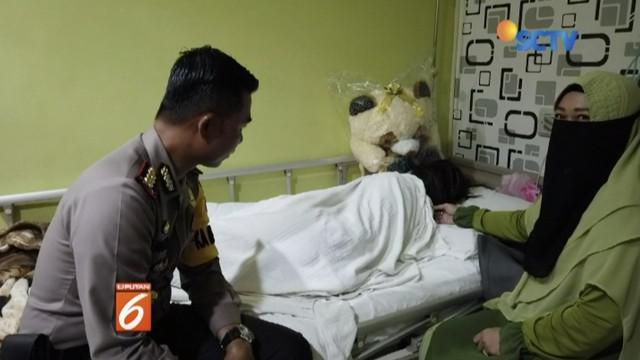 Polda Kalimantan Barat bantah organ intim AU, siswi SMP yang jadi korban perundungan di Pontianak, rusak atau terkoyak.