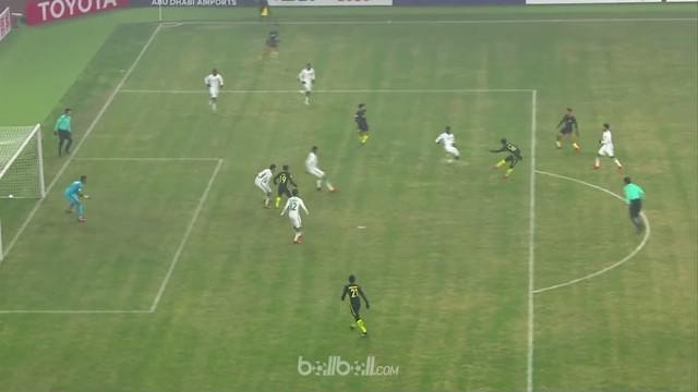 Berita video highlights Piala Asia U-23 antara Malaysia Vs Arab Saudi 1-0. This video is presented by Ballball.