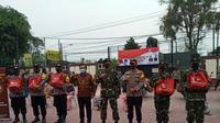EMTEK Peduli Corona berikan bantuan dalam rangka HUT Ke-75 TNI, Imam Sudjarwo Ketua Umum YPP bersinergi dengan TNI Polri salurkan bantuan