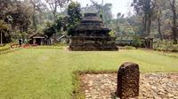 Candi Sumberawan merupakan satu–satunya stupa yang berhasil ditemukan di Jawa Timur. (Liputan6.com/Zainul Arifin)