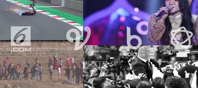 Ini dia empat berita video viral dari liputan6.com, vidio.com, bintang.com dan bola.com yang ramaikan media sosial.