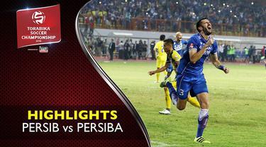 Video highlights TSC 2016 antara Persib Bandung vs Persiba Balikpapan yang berakhir dengan skor 2-1 di Stadion Wibawa Mukti, Cikarang, Bekasi.