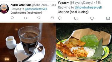 6 Makanan Indonesia Diterjemahkan ke Bahasa Inggris Ini Hasilnya Kocak
