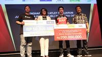 Kevin Sanjaya Sukamuljo diguyur bonus oleh Djarum Foundation usai menjuarai Indonesia Open 2019. (foto: istimewa)
