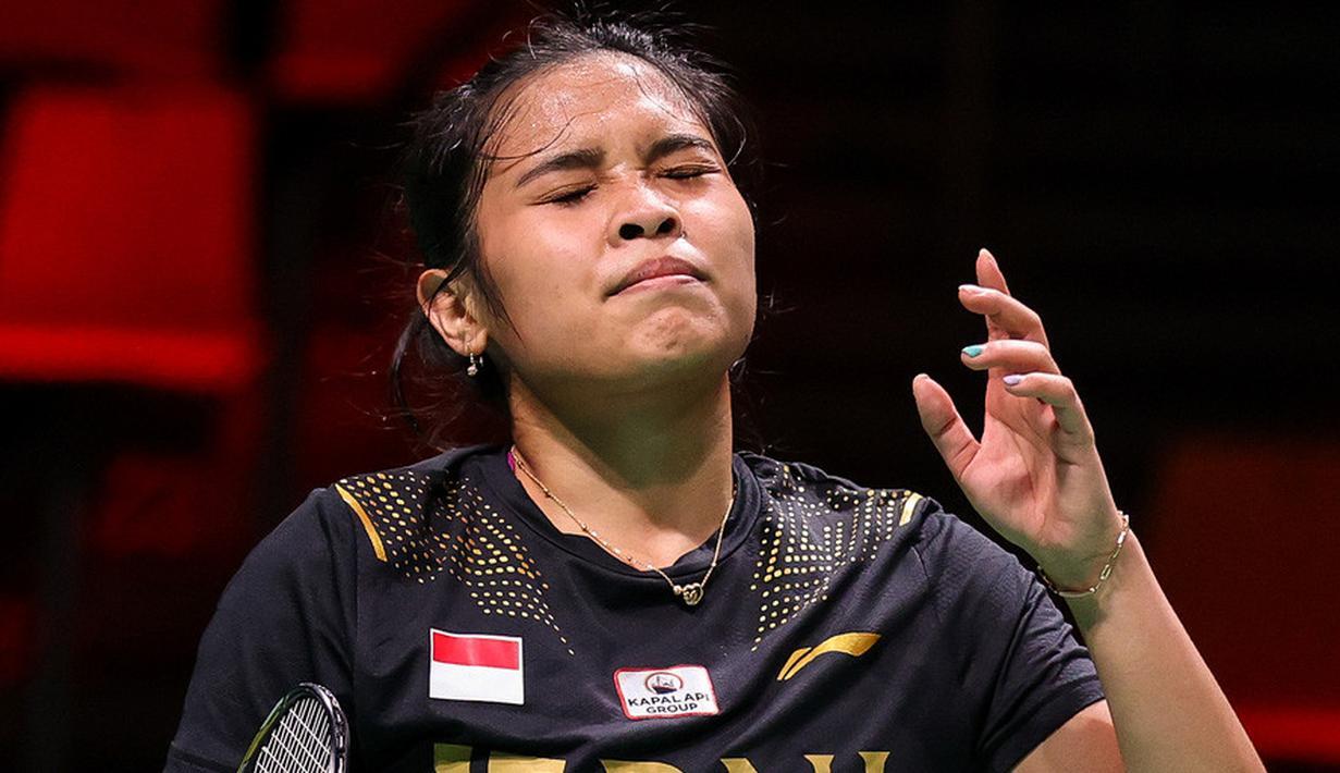 Indonesia harus menelan pil pahit usai takluk dengan skor 0-5 saat bersua Jepang pada laga penentuan juara Grup A Piala Uber 2020 di Ceres Arena, Denmark, Selasa (12/10/2021). (Badminton Photo/Yohan Nonotte)