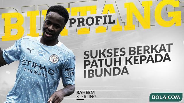 Berita video Profil Bintang Raheem Sterling, Striker Manchester City yang Sukses Berkat Peran Besar Seorang Ibu