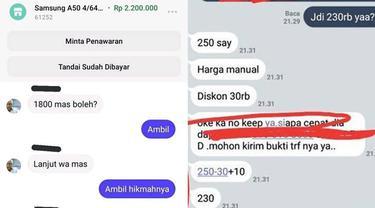 6 Chat Pembeli Nego Harga ke Penjual Ini Bikin Ngakak