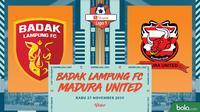 Shopee Liga 1 - Badak Lampung FC Vs Madura United (Bola.com/Adreanus Titus)