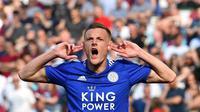 5. Jamie Vardy (Leicester) - 18 gol dan 4 assist (AFP/Ben Stansall)