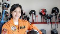 Letda Pnb Ajeng Tresna Dwi Wijayanti (Foto: dokumentasi Dispenau)
