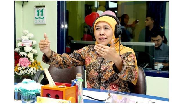 Khofifah Ajak Warga Jawa Timur Heningkan Cipta Saat Hari