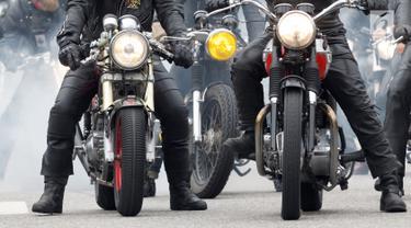 Pengendara Motor Gede atau Biker