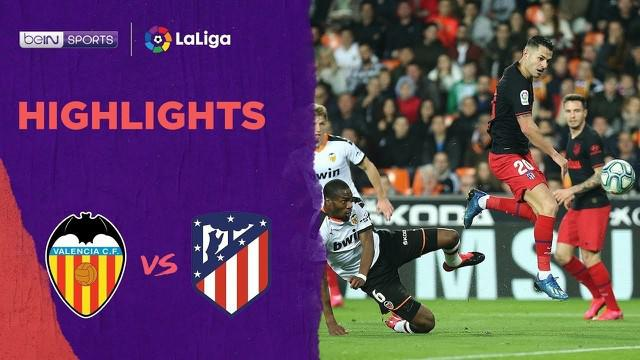 Berita Video Highlights La Liga, Atletico Madrid Ditahan Imbang Valencia 2-2