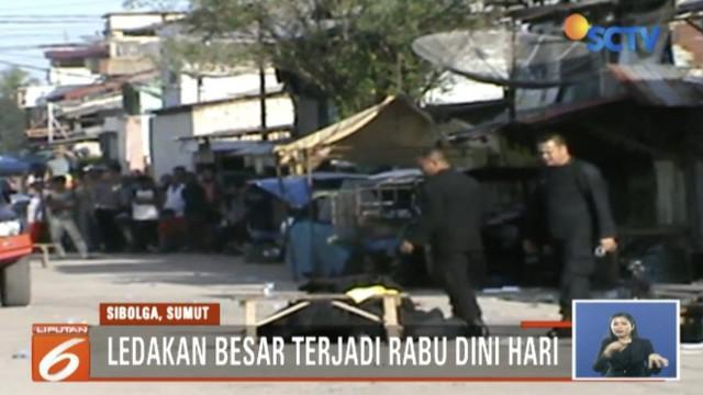 Polisi pastikan istri terduga teroris Sibolga yang sempat ledakkan bom di depan rumah, telah tewas bersama ketiga anaknya.